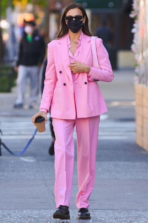 celebrity trouser suits