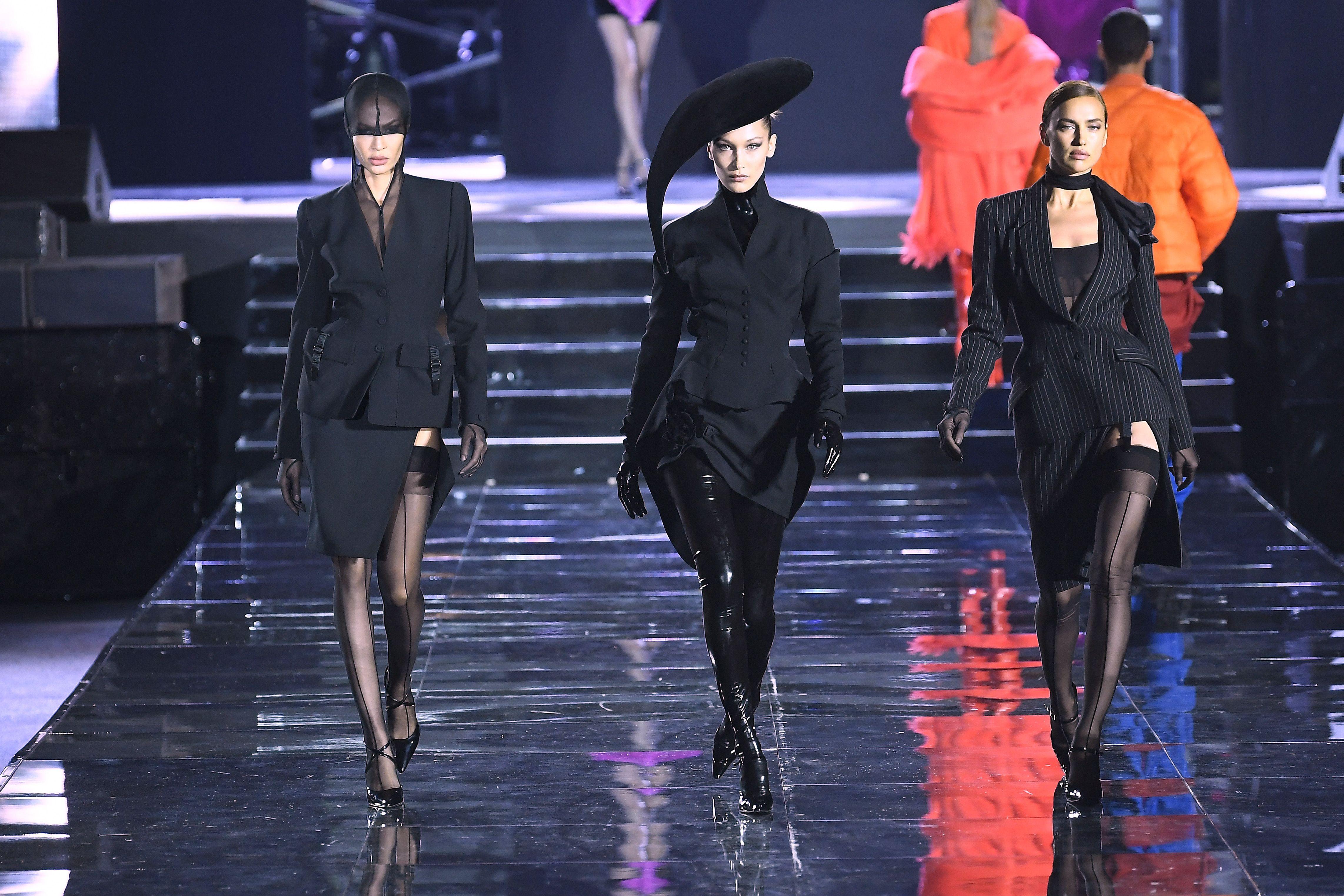 Carine Roitfeld and LuisaViaRoma's debut catwalk show