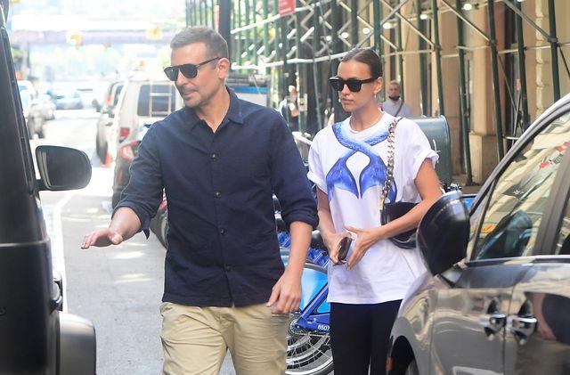 irina shayk y bradley cooper se reúnen en nueva york
