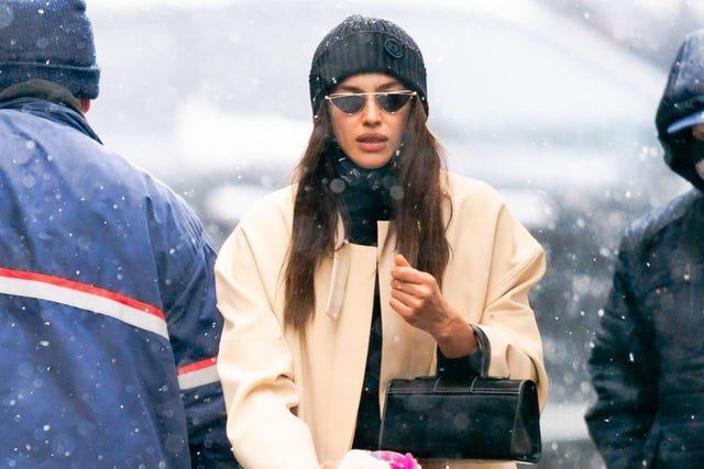 celebrity sightings in new york city   february 19, 2021
