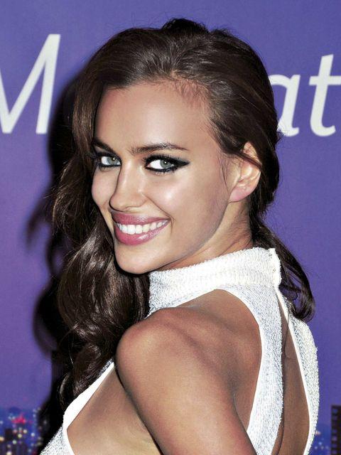 maquillaje ojos Irina Shayk