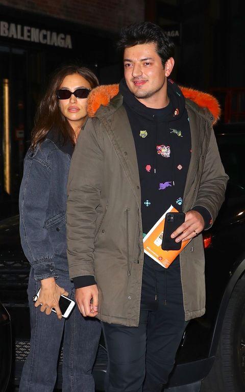 Irina Shayk and man