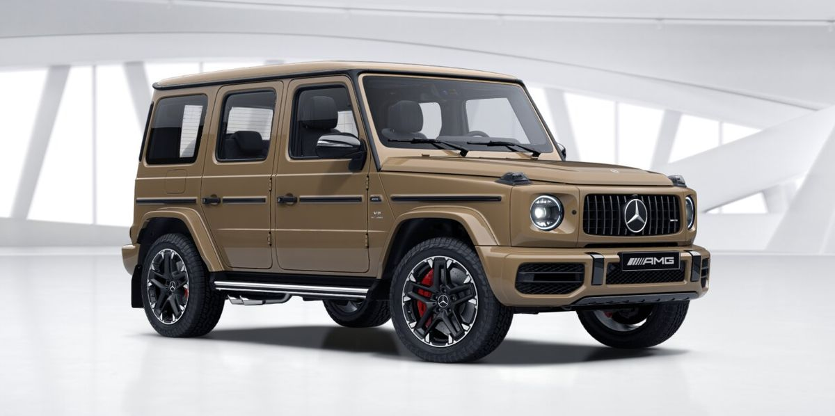 2020 Mercedes-AMG G63 Gets New Trail Package with All-Terrain Tires