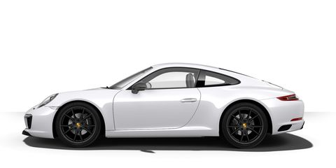 How Would You Configure Your 2018 Porsche 911 Carrera T