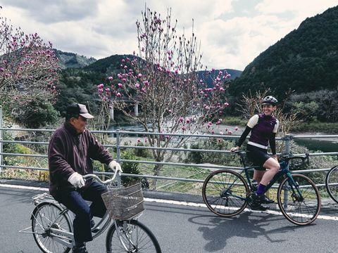 Japan op de racefiets - Iris Slappendel
