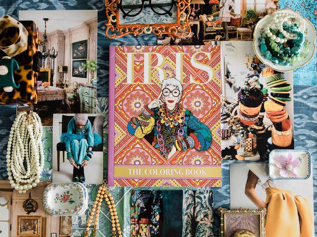 iris apfel coloring book