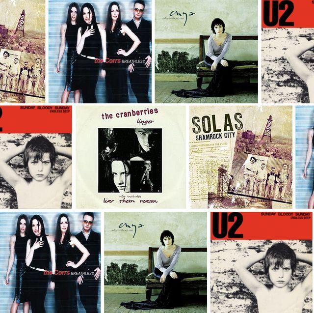 irish music album cover medley