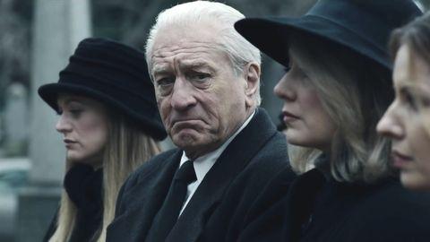 """Robert de Niro en """"El irlandés"""""""
