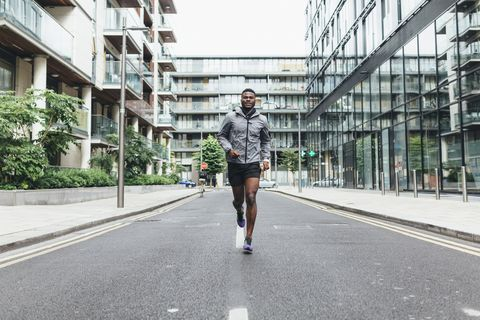 build muscle with running