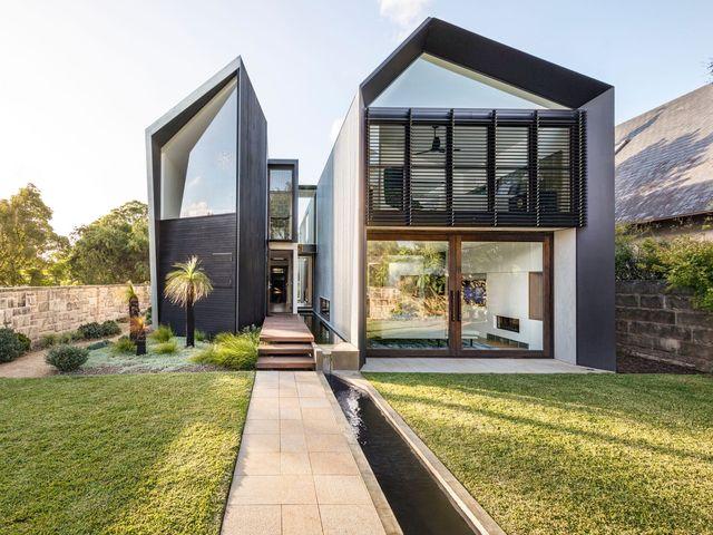 Dise o de casas australianas originales casa moderna con for La casa moderna