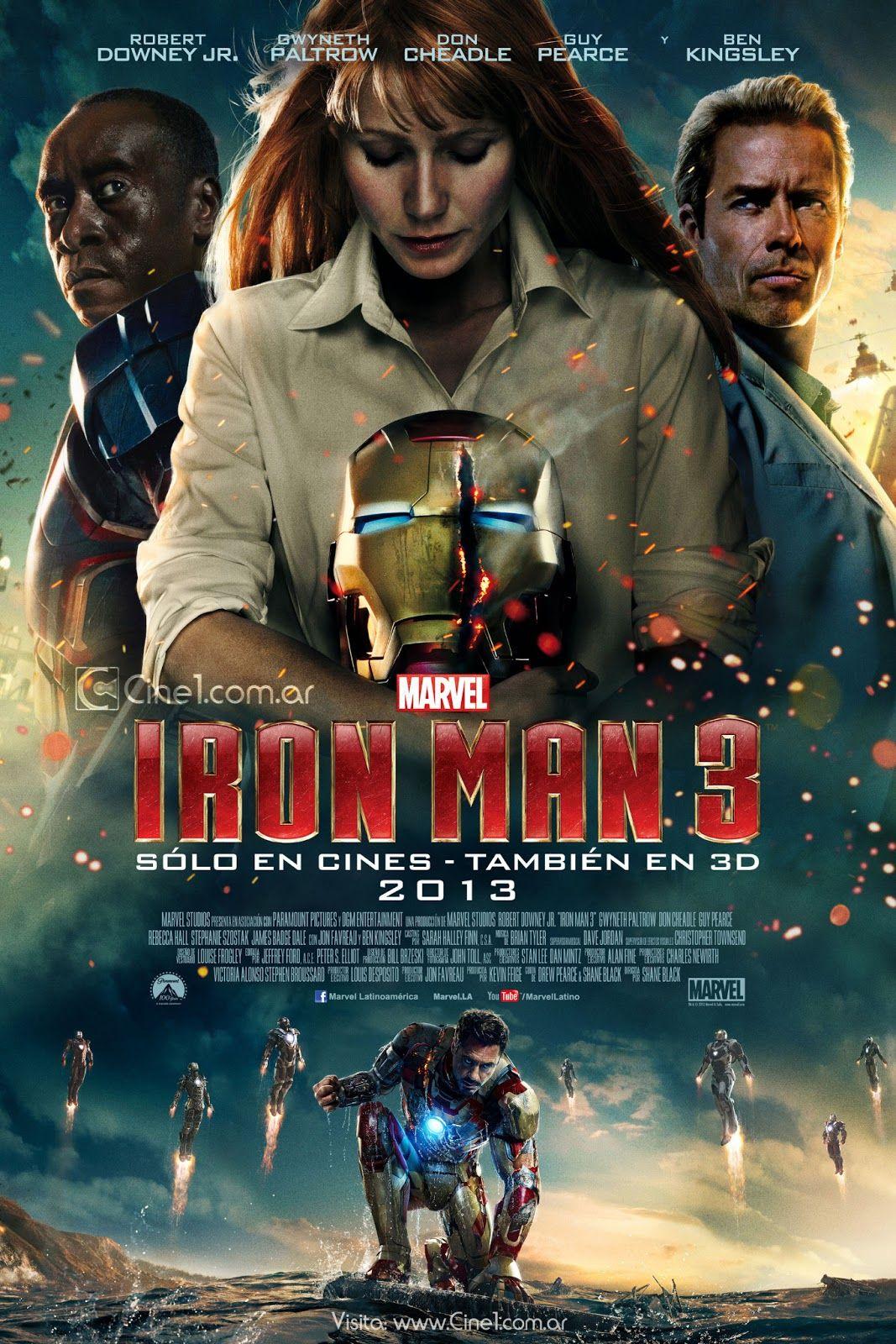 Orden Peliculas Marvel Iron Man 3