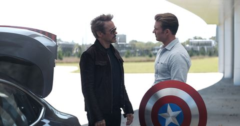 Tony Starks/Iron Man, Steve Rogers/Captain America, Avengers: Endgame