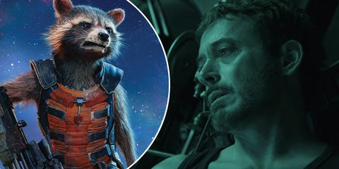 Rocket Tony Stark Rescate