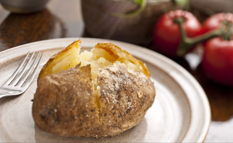 iron rich foods baked potato