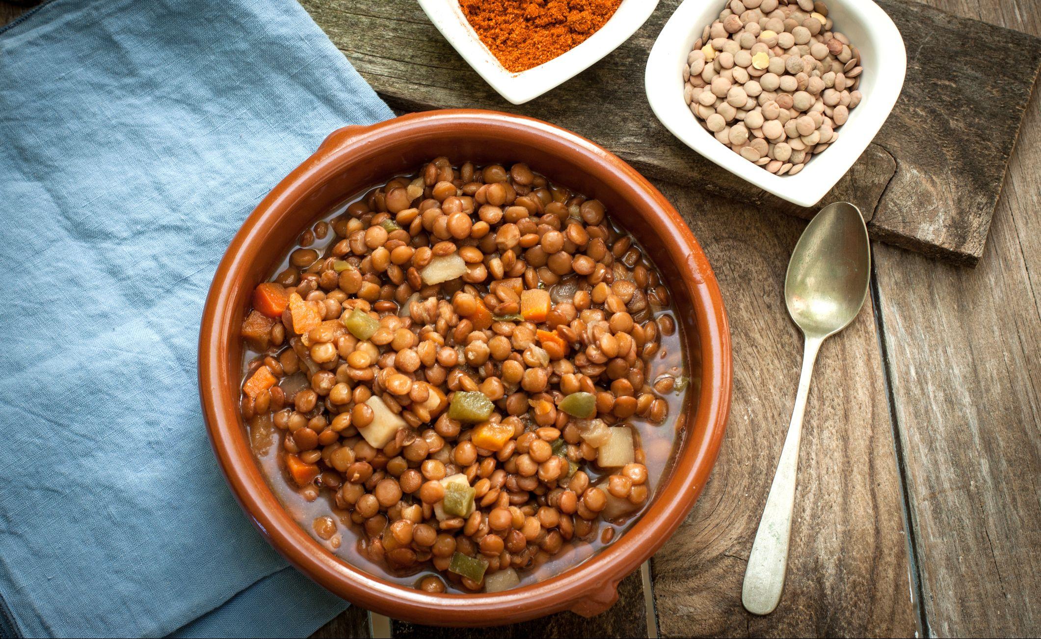 iron rich foods lentils