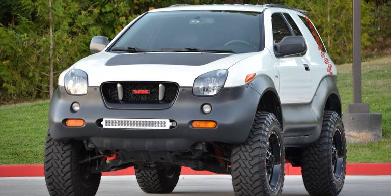 This Ironman Edition Isuzu Vehicross Is