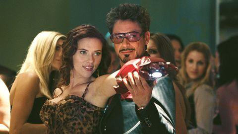 Iron Man Viuda Negra