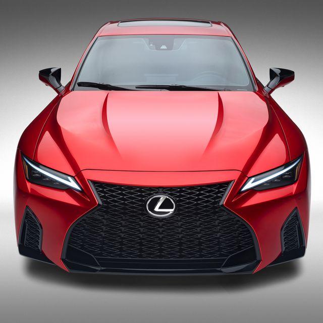 2022 lexus is 500 v8 sport sedan