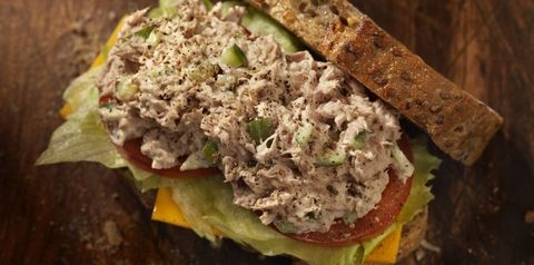 tonijn, tonijn eten, vis eten