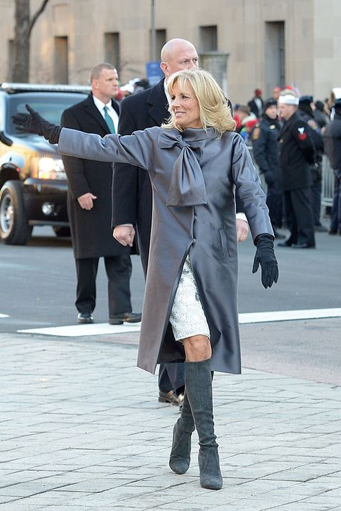 washington, dc january 21 vice president joe biden and his wife dr jill biden wave to the crowd during the inaugural parade on january 21, 2013 in washington, dc   photo by jonathan newton  the washington post via getty images