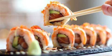 sushi gezond