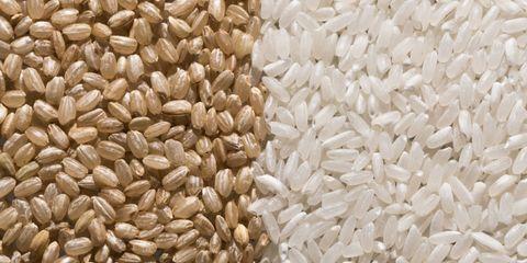 Zilvervliesrijst witte rijst