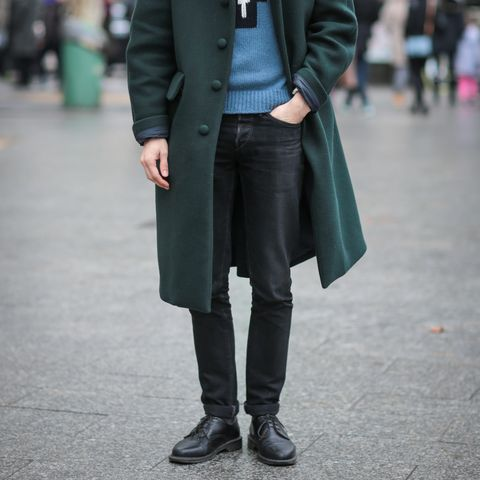 Street Style : Paris Fashion Week - Menswear Fall/Winter 2016/2017 : Day Four