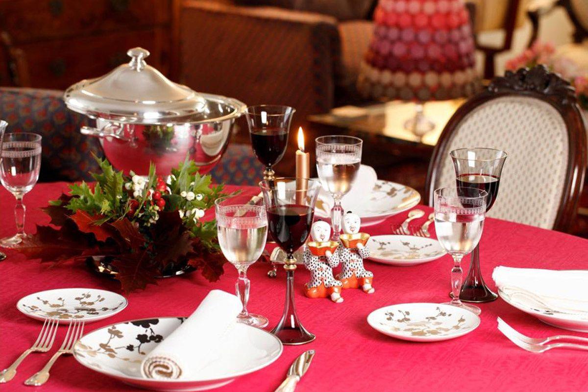 Cena navideña a domicilio