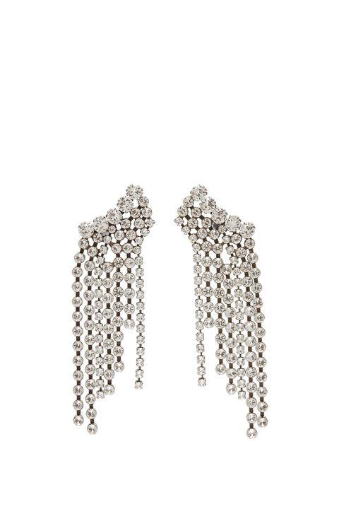 Earrings, Jewellery, Body jewelry, Fashion accessory, Chain, Ear, Silver, Silver, Metal,