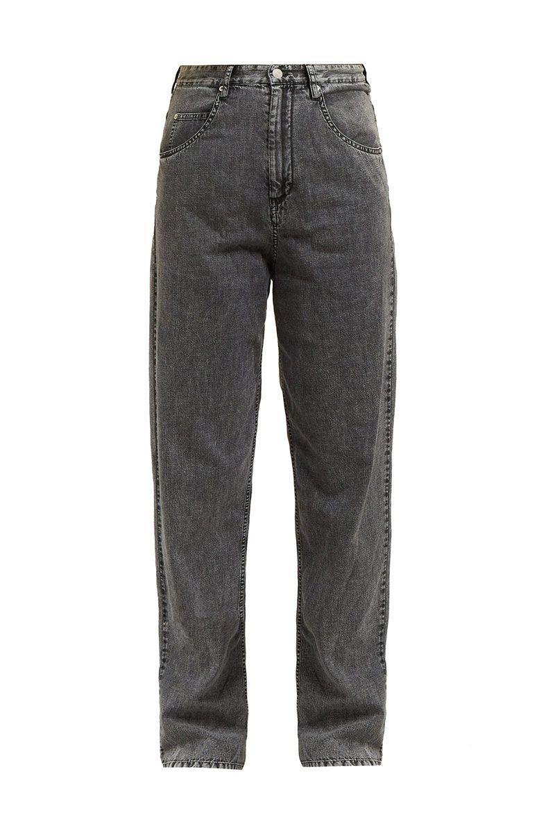 baggy straight leg jeans