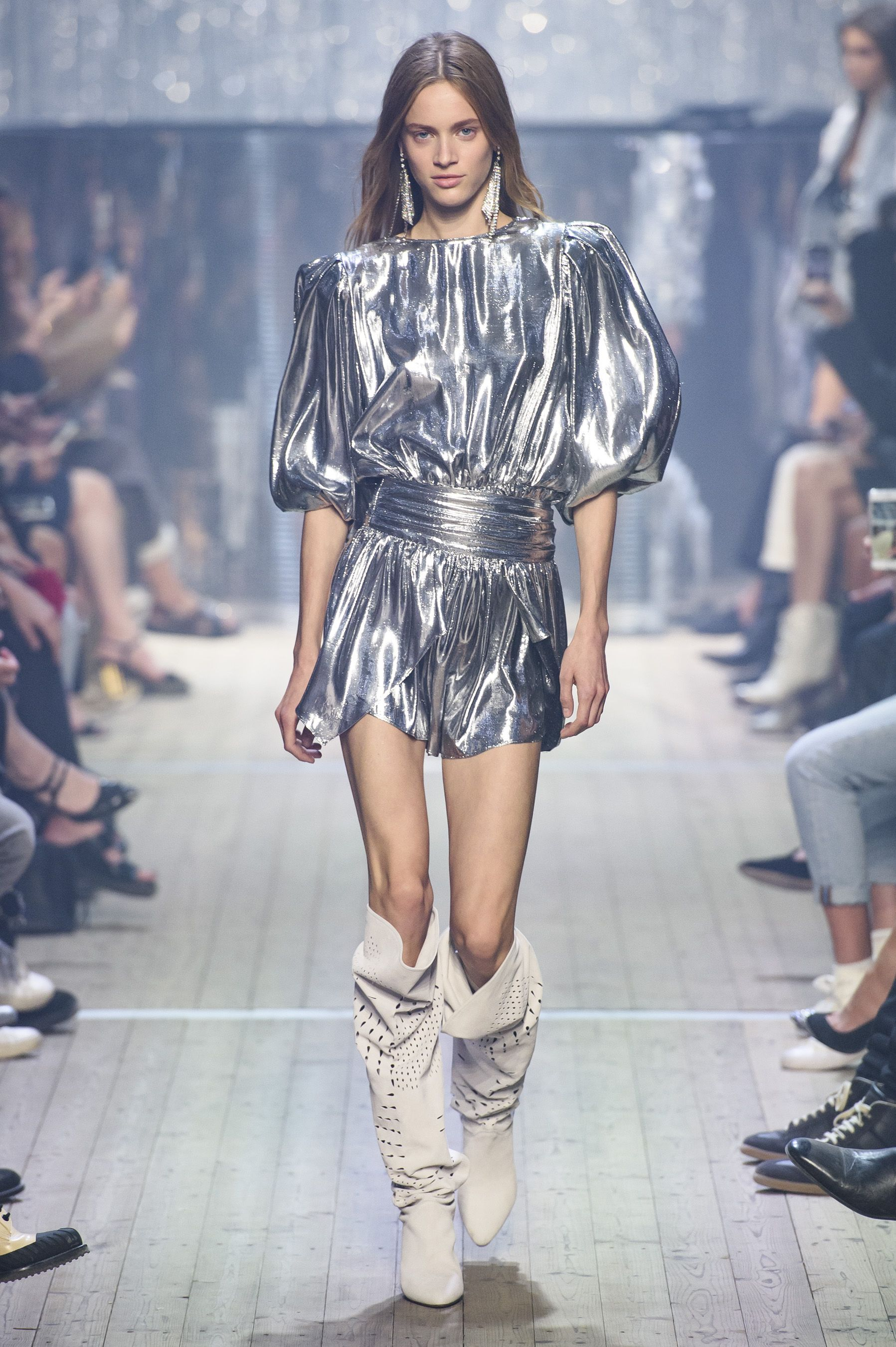 7fe0054ae0 It's All About Denim and Disco at Isabel Marant