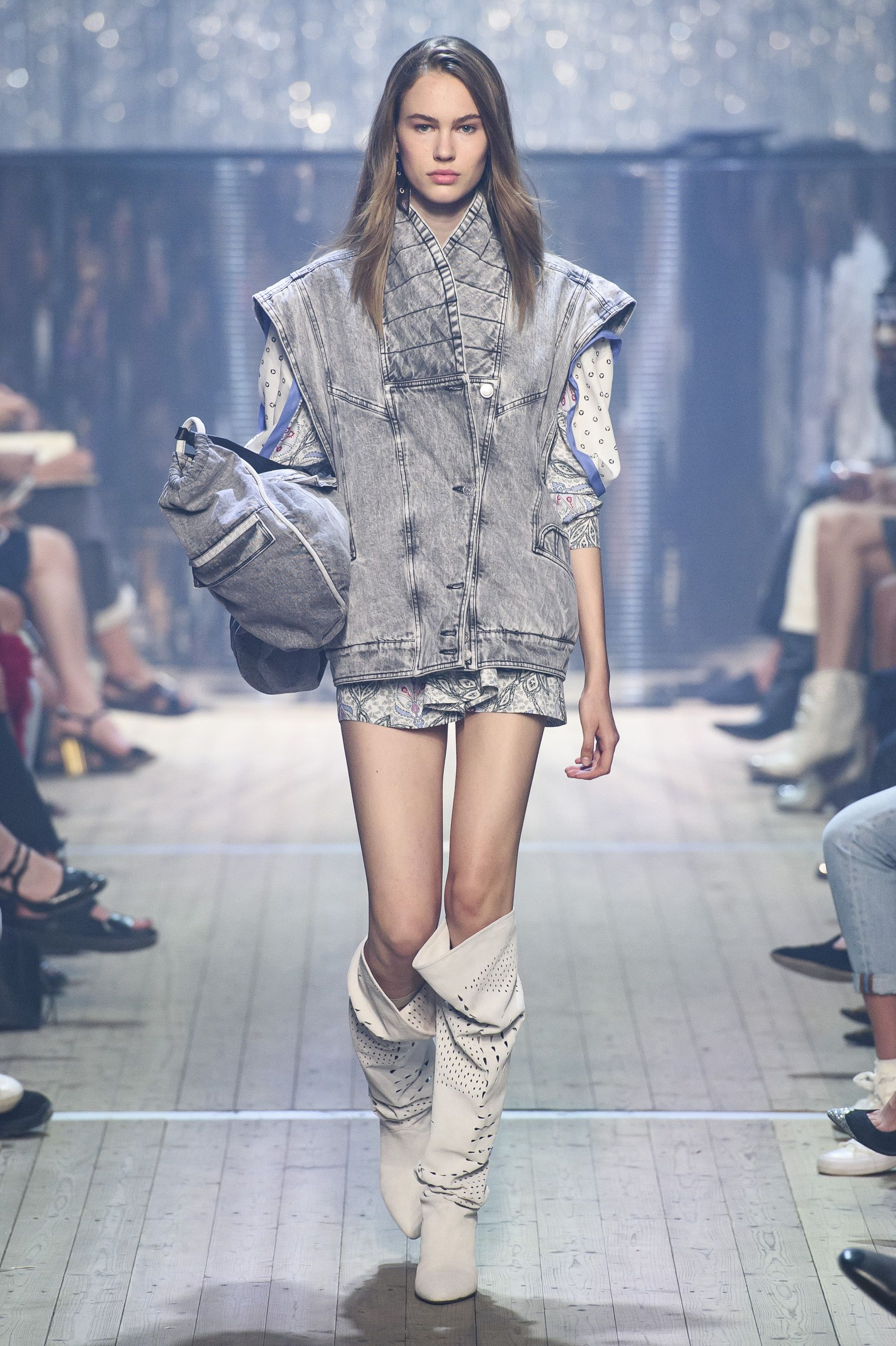 b4c2d0f9cb It's All About Denim and Disco at Isabel Marant