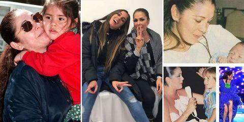 Chabelita, Kiko y Anabel Pantoja felicitan a Isabel Pantoja