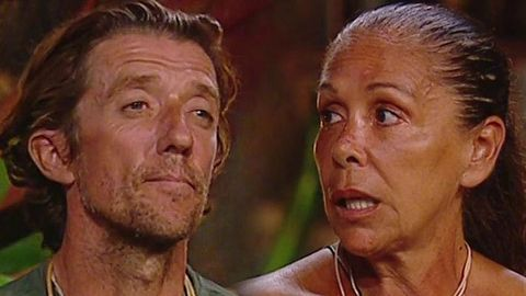 Isabel Pantoja y Colate supervivientes
