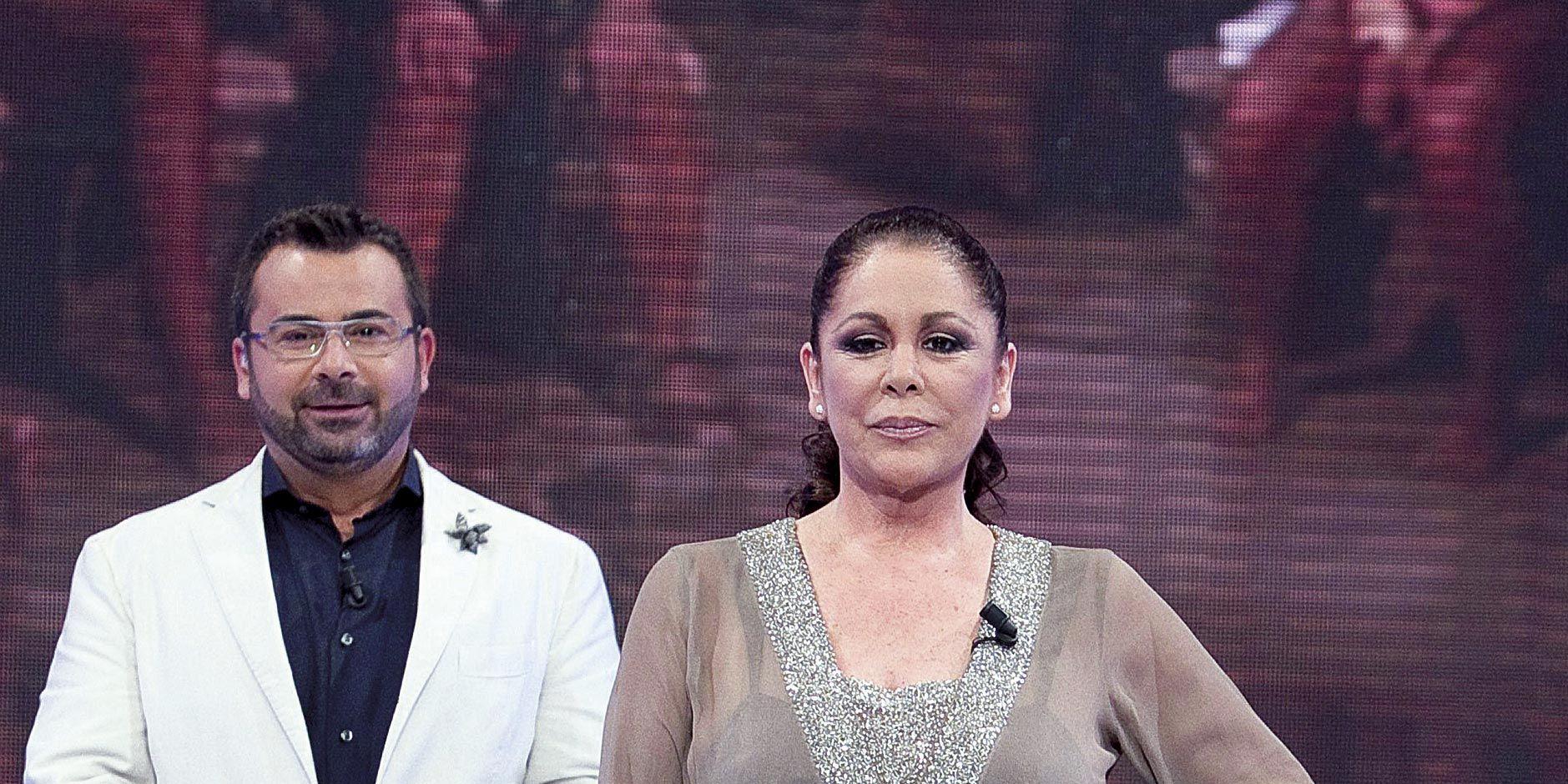 Isabel Pantoja con Jorge Javier Vázquez