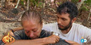 Isabel Pantoja sufre un bajón anímico en la recta final de 'Supervivientes 2019'