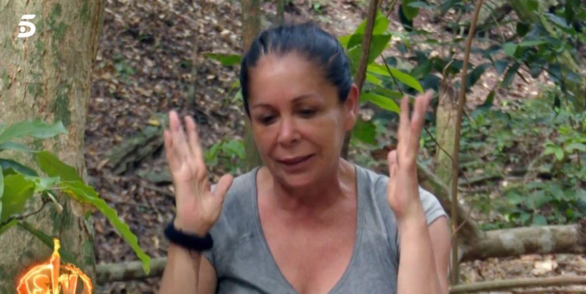 La salud le juega una mala pasada a Isabel Pantoja en Supervivientes 2019