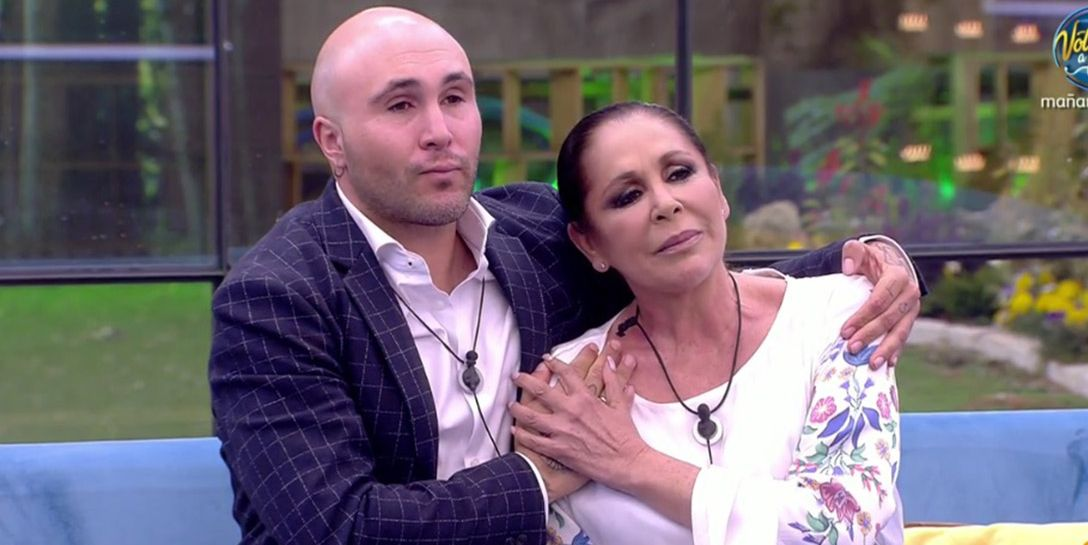 Isabel Pantoja y Kiko Rivera se reencuentran en la casa de 'GH Dúo'