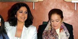 Isabel Pantoja y su madre doña Ana