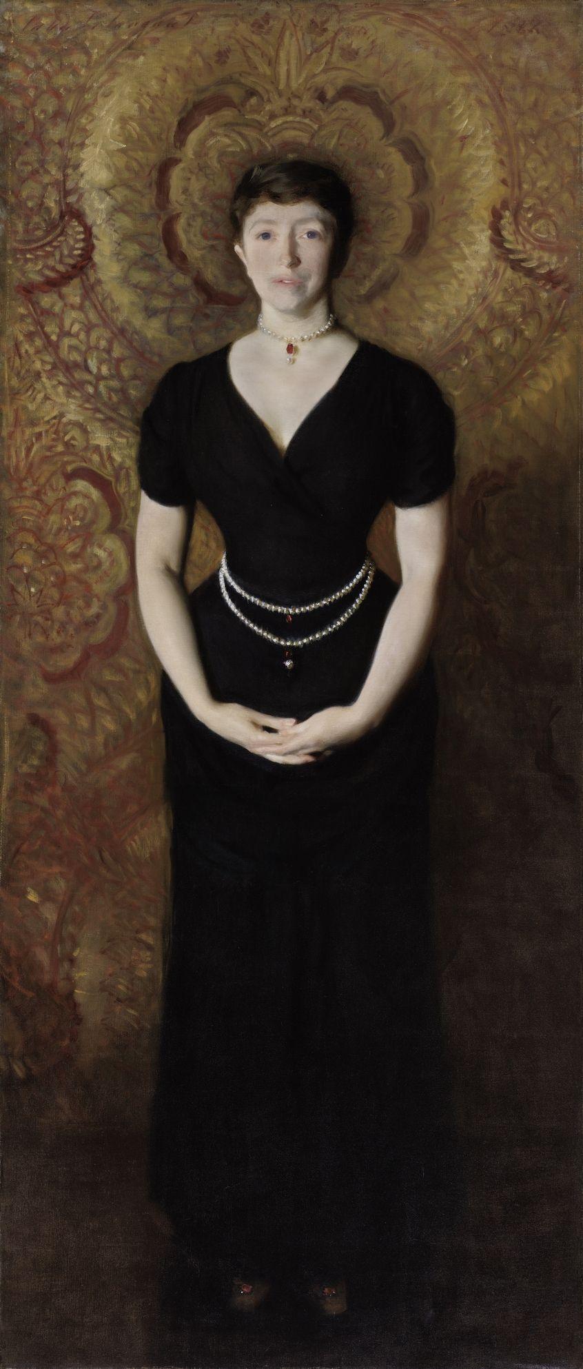 Isabella Stewart Gardner portrait by John Singer Sargent