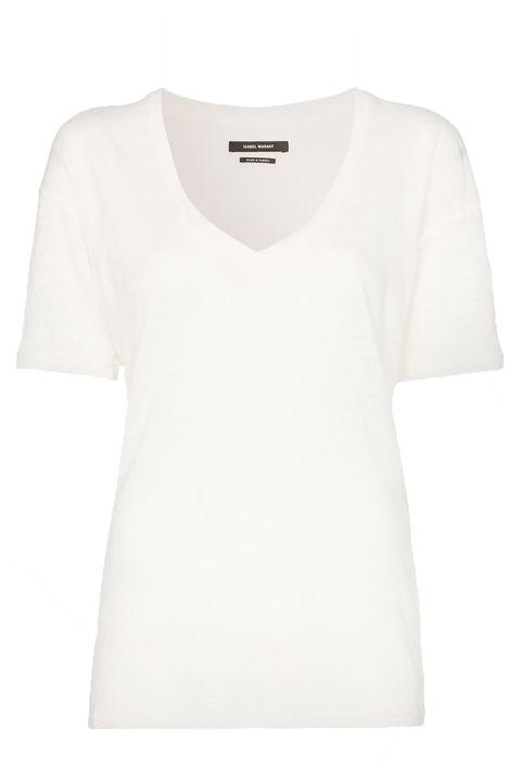 Isabel Marant camiseta con cuello en v