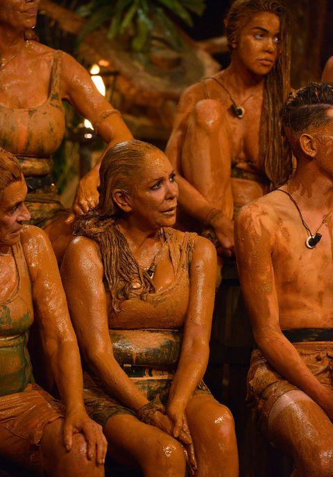 Isabel Pantoja y sus bañadores en 'Supervivientes'