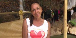 Isabel Pantoja reconoce que está enamorada en 'Supervivientes'