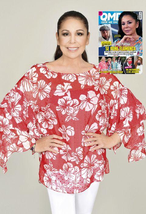 isabel pantoja se pone flamenca en la portada de la revista '¡qué me dices'