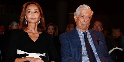 Isabel Preysler, el mejor apoyo de Mario Vargas Llosa en su reaparición