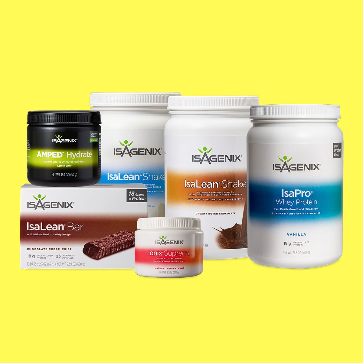 Isagenix weight loss before and after