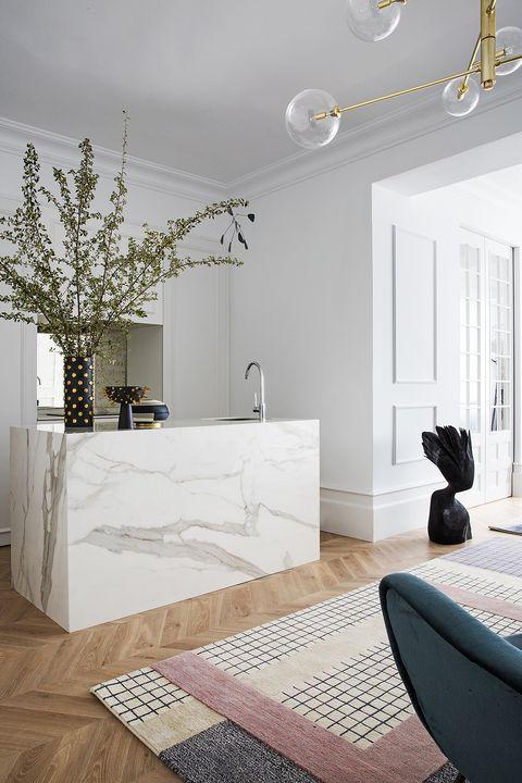 piso madrid cayetana blanco  la cocina