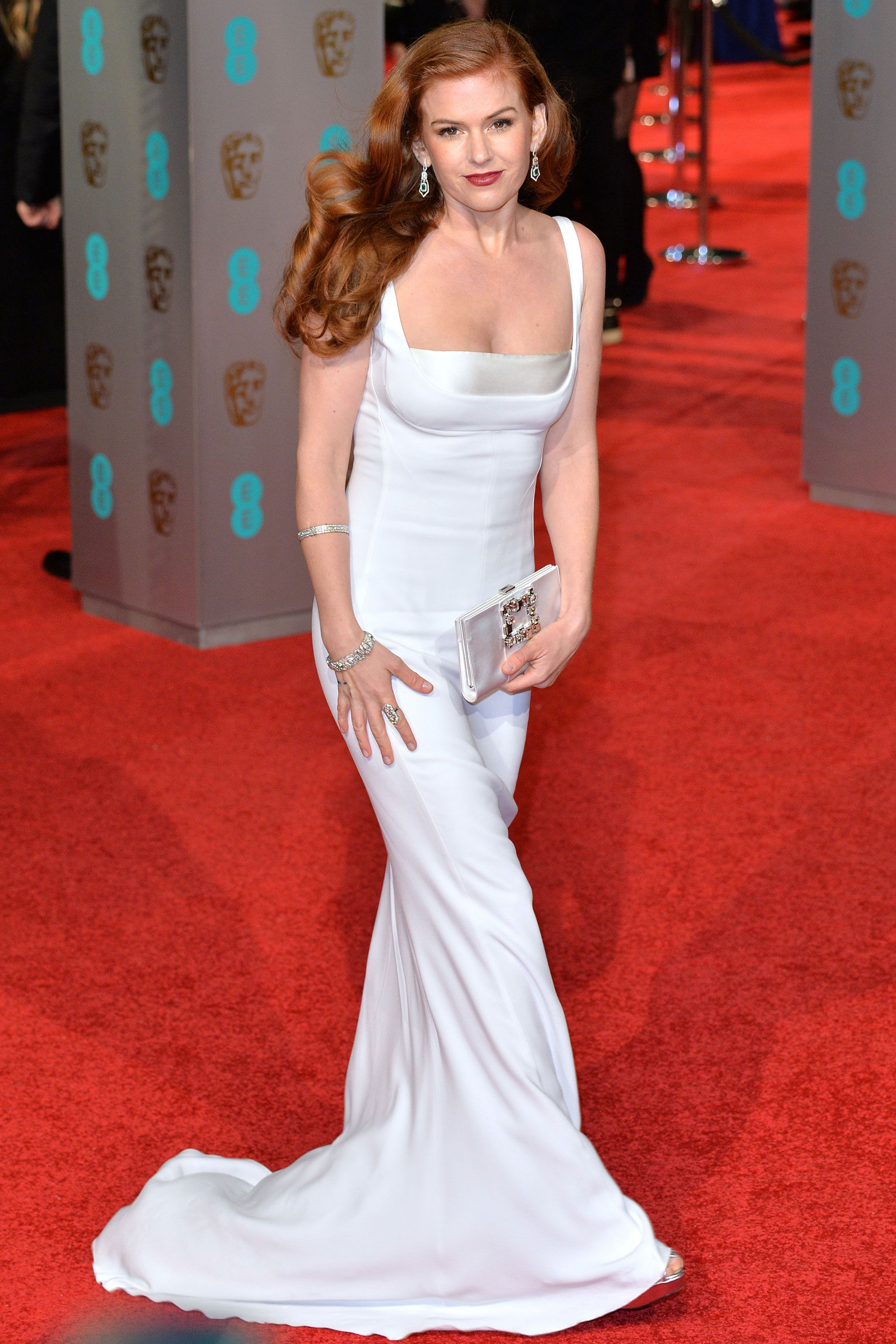 dceb872617c Celebrities wearing white Stella McCartney dresses – Stella McCartney  designs on the red carpet