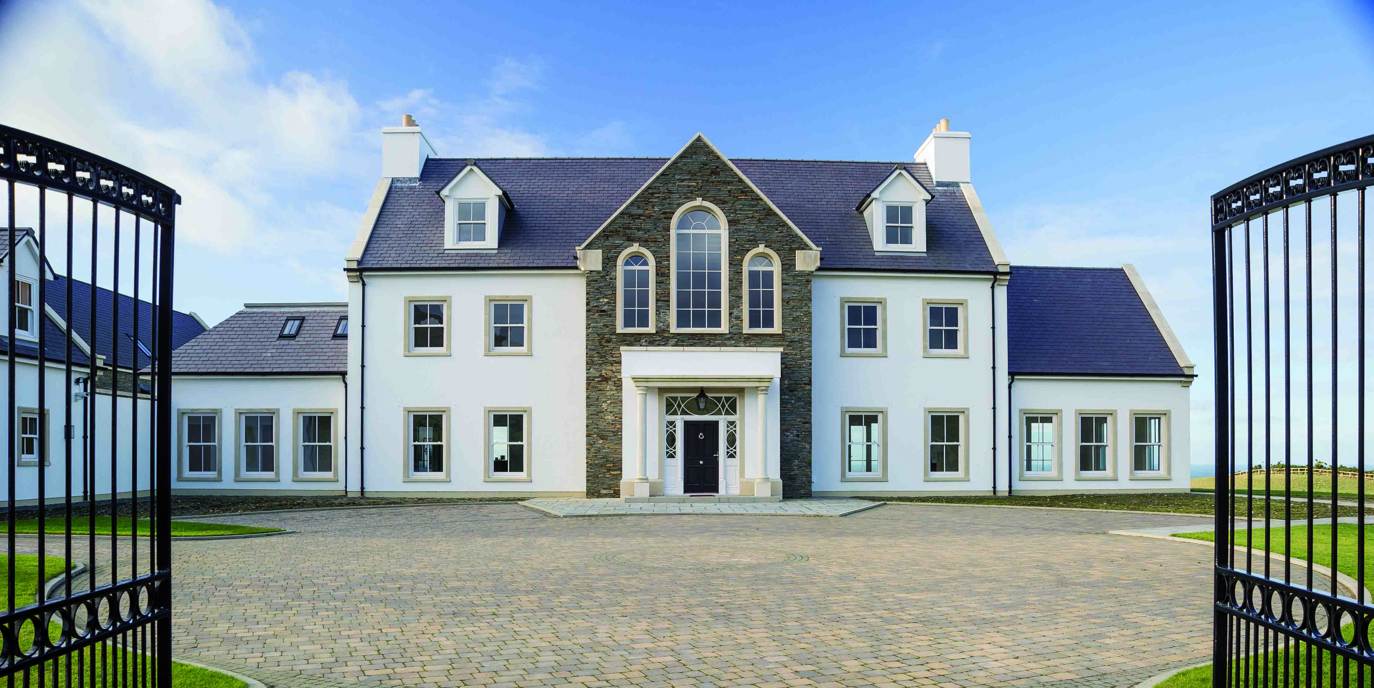 Isle of Man - country mansion - front - Zoopla