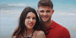 Ismael y Andrea, pareja de 'La isla de las tentaciones'